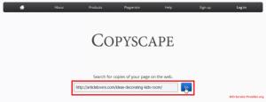 copyscape বাগ