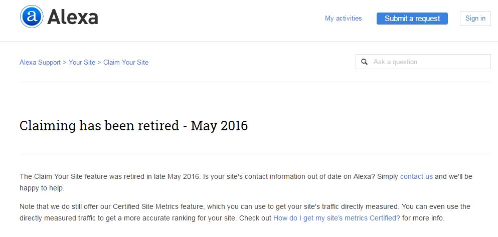 Alexa-claim-is-retired